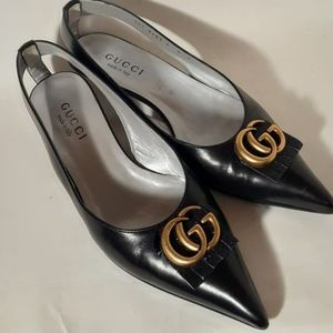 Authentic Gucci kittens scarpa Heels sandals